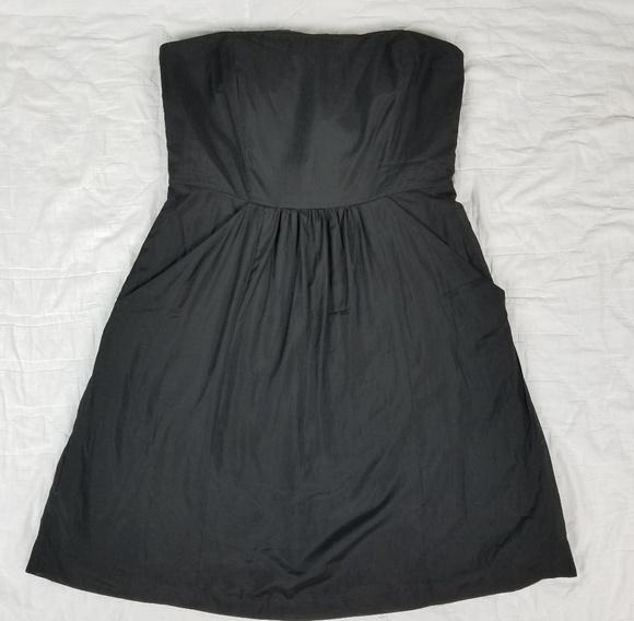 Loft Dresses Strapless Dress Black Short Summer Dress Poshmark